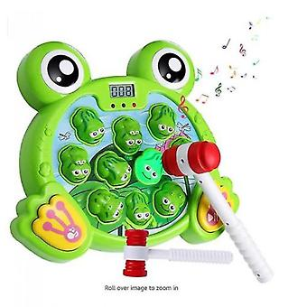 Interactive Thump Frog Game Durable Heavy Toys Fun Gifts For Kids