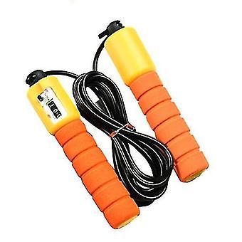 Salta corde con counter fitness jump skip (arancione)