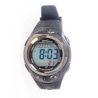 Xoom Digital Wrist Watch, Silicone Cord, Digital Wrist Watch, Sports Wrist Watch, Water Resistant, 2 Year Warranty