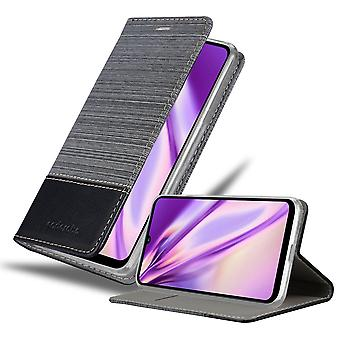 Case for Huawei Y6P Foldable Phone Case - Cover - with Stand Function and Card Tray