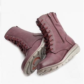Heavenly Feet Martina3 Ladies Ankle Boots Dark Berry