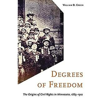 Degrees of Freedom The Origins of Civil Rights in Minnesota 18651912