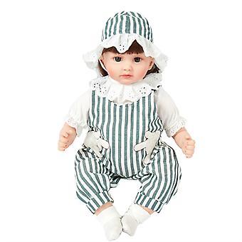 Mimigo Reborn Baby Puppen Kleinkind - Realisitc Reborn Mädchen Puppe Gewichtet Lebensecht mit weichem Silikon Körper Geschenkset für Kinder Alter 3+ Pink Blau