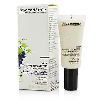 Academie Aromatherapie Eye & Lip Contour Cream - For All Skin Types - 15ml/0.5oz