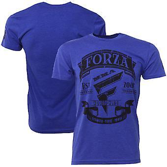 "Forza Sports ""Origins"" MMA T-Shirt - Royal Blue"