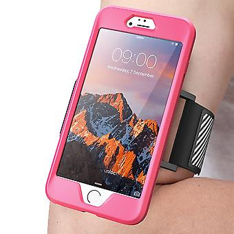 SUPCASE- Apple iPhone 7 Plus Case,Sport Armband-Flexible Case-Pink