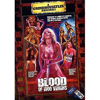 Blood of 1000 Virgins [DVD] USA import