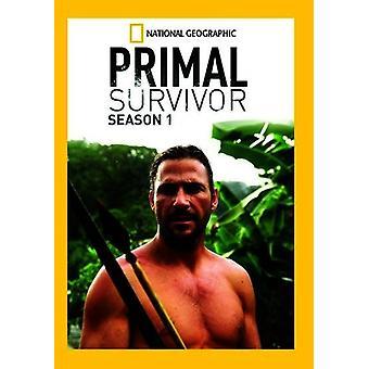 Primal Survivor: Season 1 [DVD] USA import
