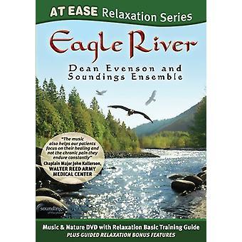 Evenson, Dean & Soundings Ensemble - Eagle River (at Ease Relaxatation Series) [DVD] USA import