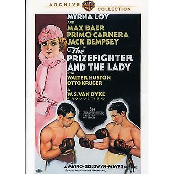 Lutador de boxe e a senhora [DVD] EUA importar