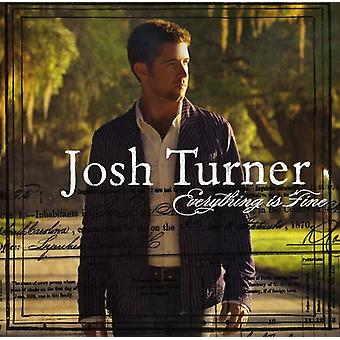 Josh Turner - Everything Is Fine [CD] USA import