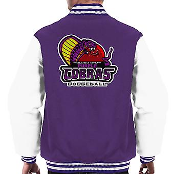 Purple Champs Globo Gym Purple cobras dodgeball muži ' s Varsity bunda