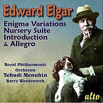 Royal Philharmonic Orchestra Yehudi Men - Elgar: Enigma Variations; Nursery Suite; [CD] USA import