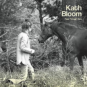 Kath Bloom - Pass Through Here [CD] USA import