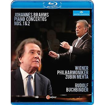 Piano Concertos 1 & 2 [Blu-ray] USA import