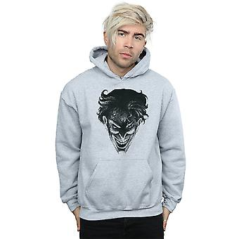 DC Comics Men's The Joker Spot Face Hoodie