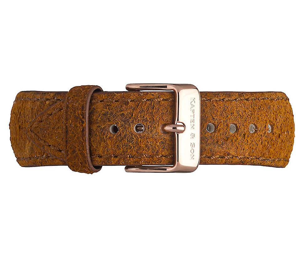 Truncated and Son Brown Vintage Leather 4251145213572 Campus