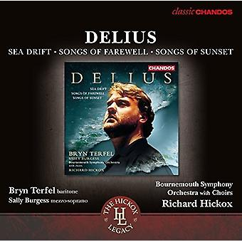 Delius / Bornemouth Symphony Orchestra & Chorus - Sea Drift - Songs of Farewell - Songs of Sunset [CD] USA import