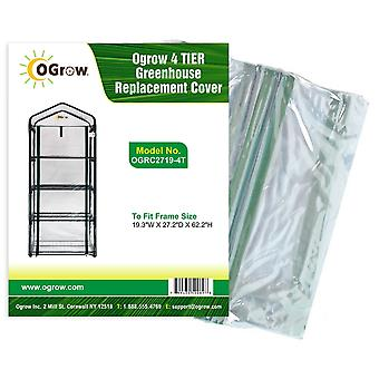 4 Tier Kleine Mini Greenhouse Replacement Plastic PVC Cover Garden Grow House Bag