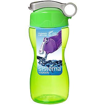システマー砂時計ドリンク ボトル グリーン 475 ml