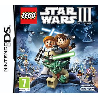 LEGO Star Wars 3 The Clone Wars (Nintendo DS) - Nouveau
