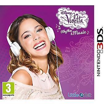 Violetta Rhythm and Music (Nintendo 3DS) - Als nieuw