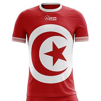 2020-2021 Tunisia Away Concept Football Shirt (Kids)