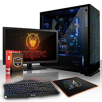 Heftige GUARDIAN Gaming-PC, schnelle AMD Ryzen 5 2600 3,9 GHz, 1 TB HDD, 16 GB RAM, GTX 1050 2 GB