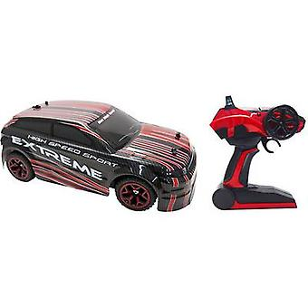 Amewi 22224 Rallye AM-5 1:18 RC model car for beginners Electric Road version 4WD Incl. batteries and charger