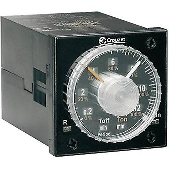Crouzet TIMER TMR 48L TDR Multifunction 1 pc(s) Time range: 0.02 s - 300 h 2 change-overs