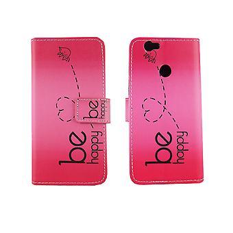 Telefono cellulare custodia per cellulare Huawei Nova essere felice rosa