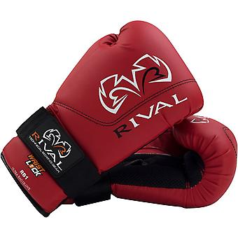 Rival Boxing RB1 Hook and Loop Ultra Bag Gloves - Red