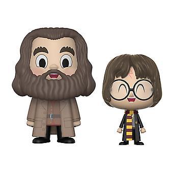 Harry Potter Pop! Vynl Figuren Harry & Hagrid aus Kunststoff, von Funko, in Geschenkkarton.
