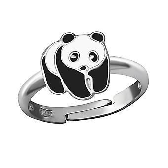 Panda - 925 Sterling hopea renkaat - W36324x