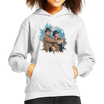 TV Times Morecambe And Wise 1981 Kid's Hooded Sweatshirt