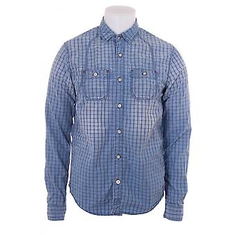 Scotch & Soda Scotch And Soda Mens Checked Workwear Shirt