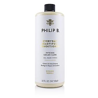 Philip B Everyday Beautiful Conditioner (intense Color Care - All Hair Types) - 947ml/32oz