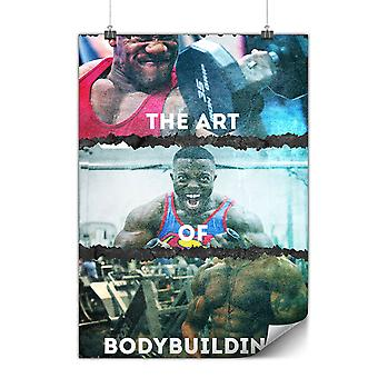 Matte or Glossy Poster with Bodybuilding Gym Sport | Wellcoda | *y2667