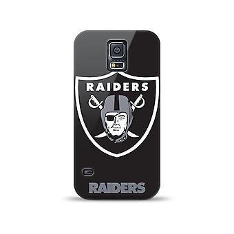 Mizco Sports NFL Oversized Snapback TPU Case for Samsung Galaxy S5 (Oakland Raiders)