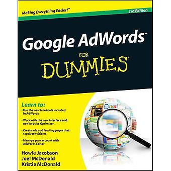 Google AdWords voor Dummies (3e herziene editie) door Howie Jacobson -