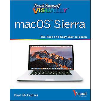 Leer jezelf visueel macOS Sierra door Paul McFedries - 978111930061