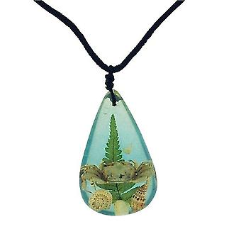The Olivia Collection Nautical Underwater Life Necklace with REAL Crab