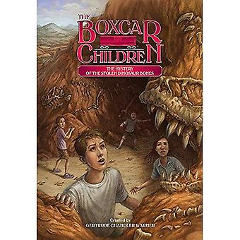 Mysteriet med den stulna Dinosaurieben (Boxcar barn)
