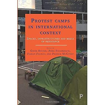 Protestera mot läger i internationella sammanhang: platser, infrastruktur och medier av motstånd