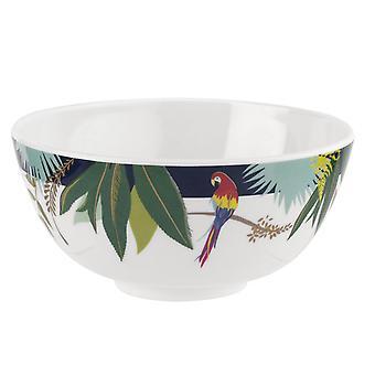 Sara Miller Parrot Set of 4 Melamine Bowls