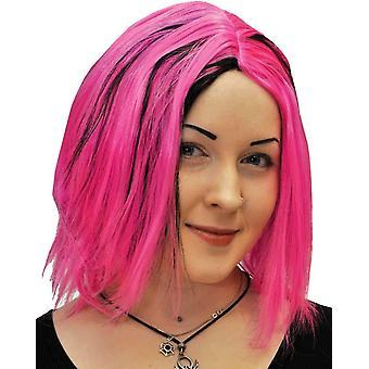 Shag roze Peruke