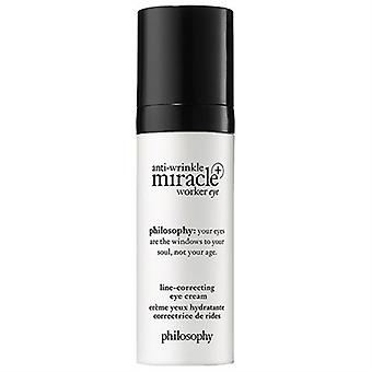 Philosophie anti-rides Miracle Worker + Eye Line correction yeux crème 0,5 oz/15 ml