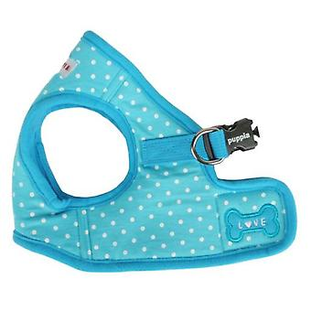 Puppia Dotty Harness Blue Sky B (Dogs , Collars, Leads and Harnesses , Harnesses)