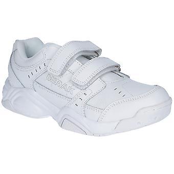 Mirak damer utmanare vadderat läder sport tränare vit (liten)