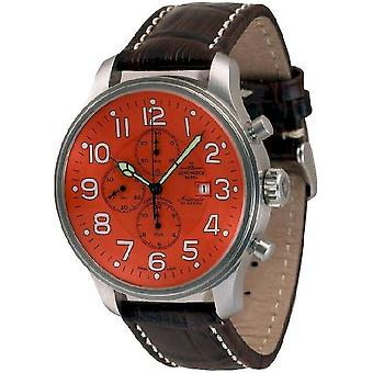 Zeno-watch mens watch giant chronograph date 10557TVD-a5